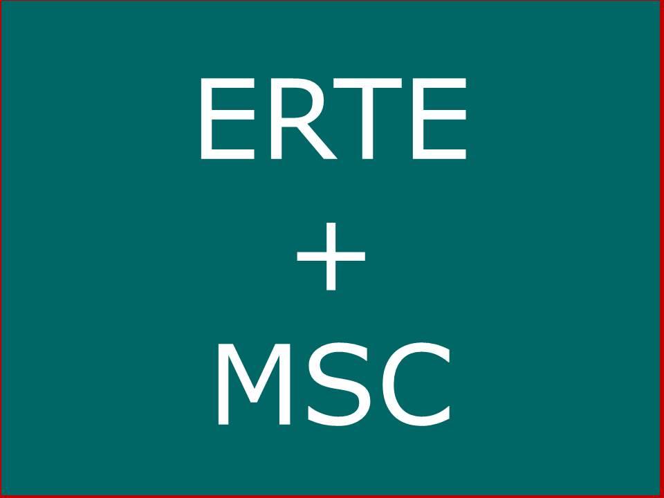 ERTE + MSC